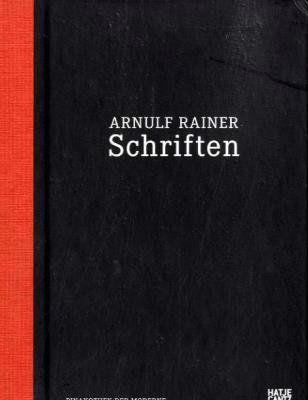 Arnulf Rainer Schriften - Buch